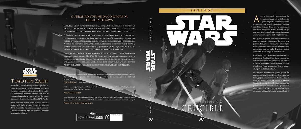 star wars a new dawn book cover Editora Aleph disney Um Nuovo Amanhecer
