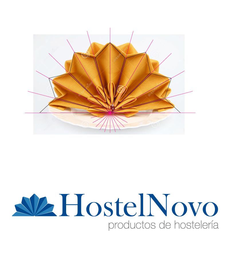 logo Logotipo hostelnovo Hostelería