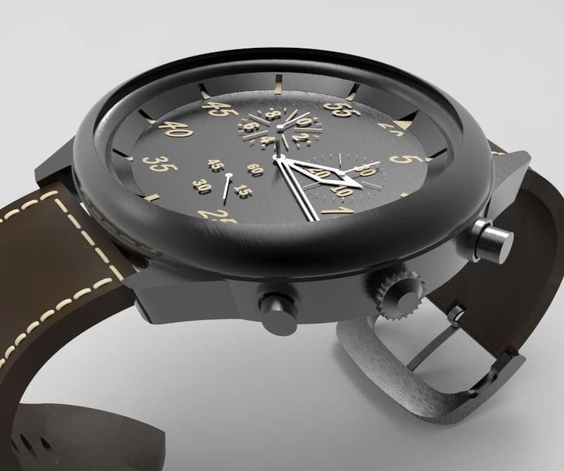 Watch Design In Rhino 3D On Behance