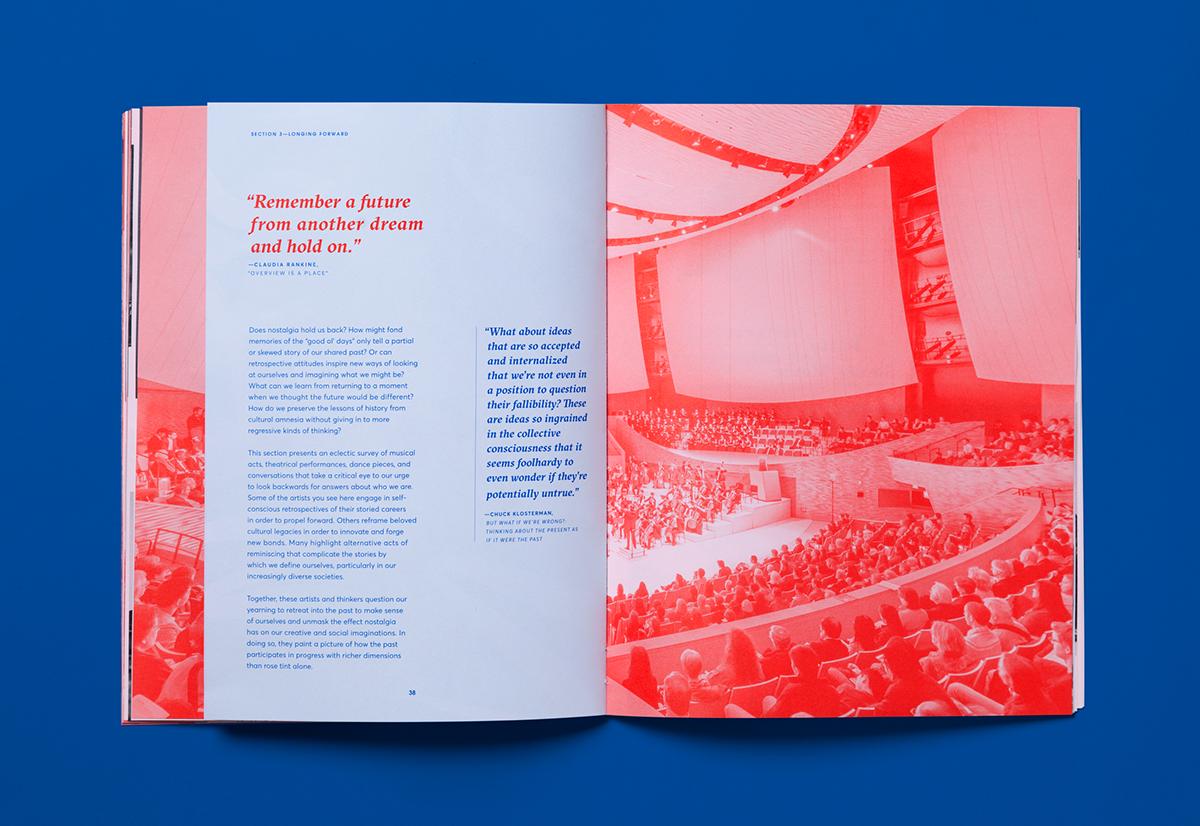 graphic design  print uncoated Program campaign stanford ILLUSTRATION  brochure book Layout