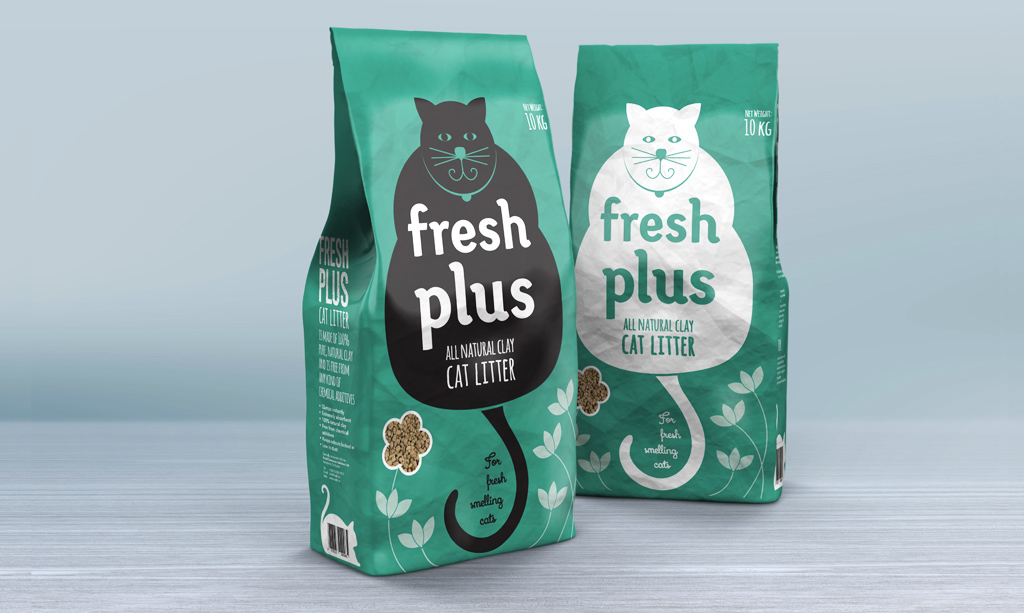 graphic design product packaging fun barcode Cat natural environment-friendly Playful feline