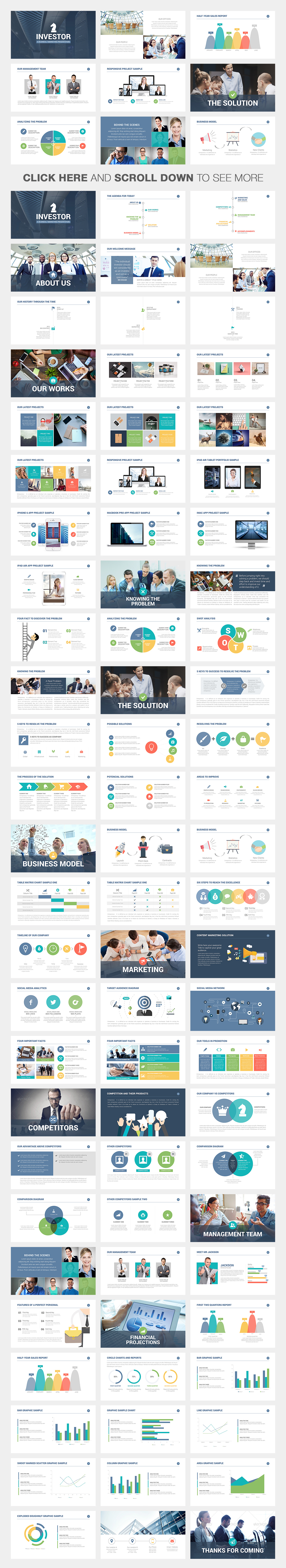 Investor pitch deck powerpoint template on behance now you can download this powerpoint presentation template toneelgroepblik Image collections