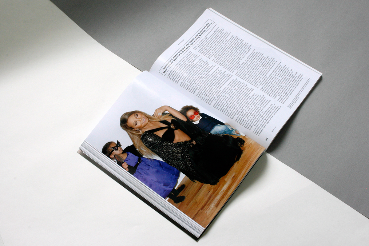 mariah carey fashion magazine wonderland 90's