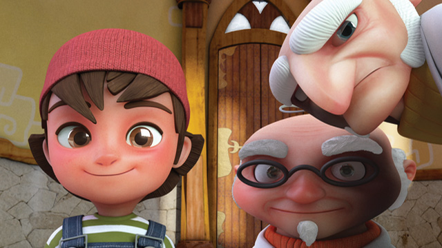 Zac and Penny 3D animation  Castle Character design Dubbing kid realistic