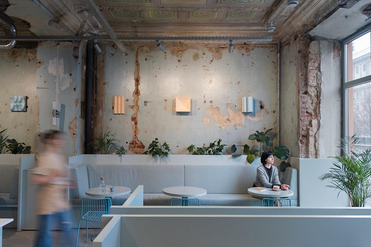 architecture coffeeshop coffeeshop design coffeeshop interior design Interior interior design  Rare restoration