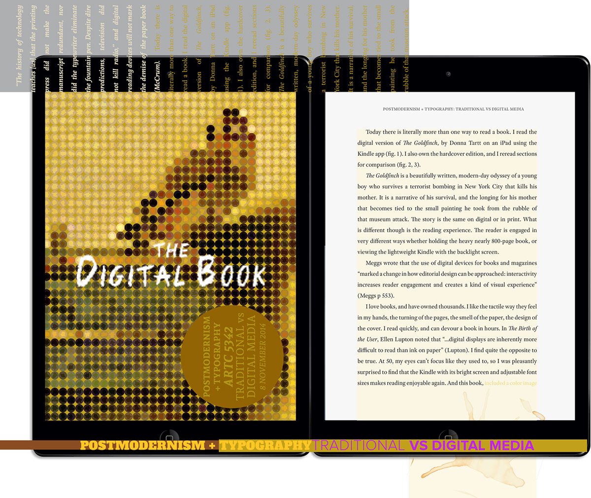 lisa willard postmodernism in typography the digital book essay