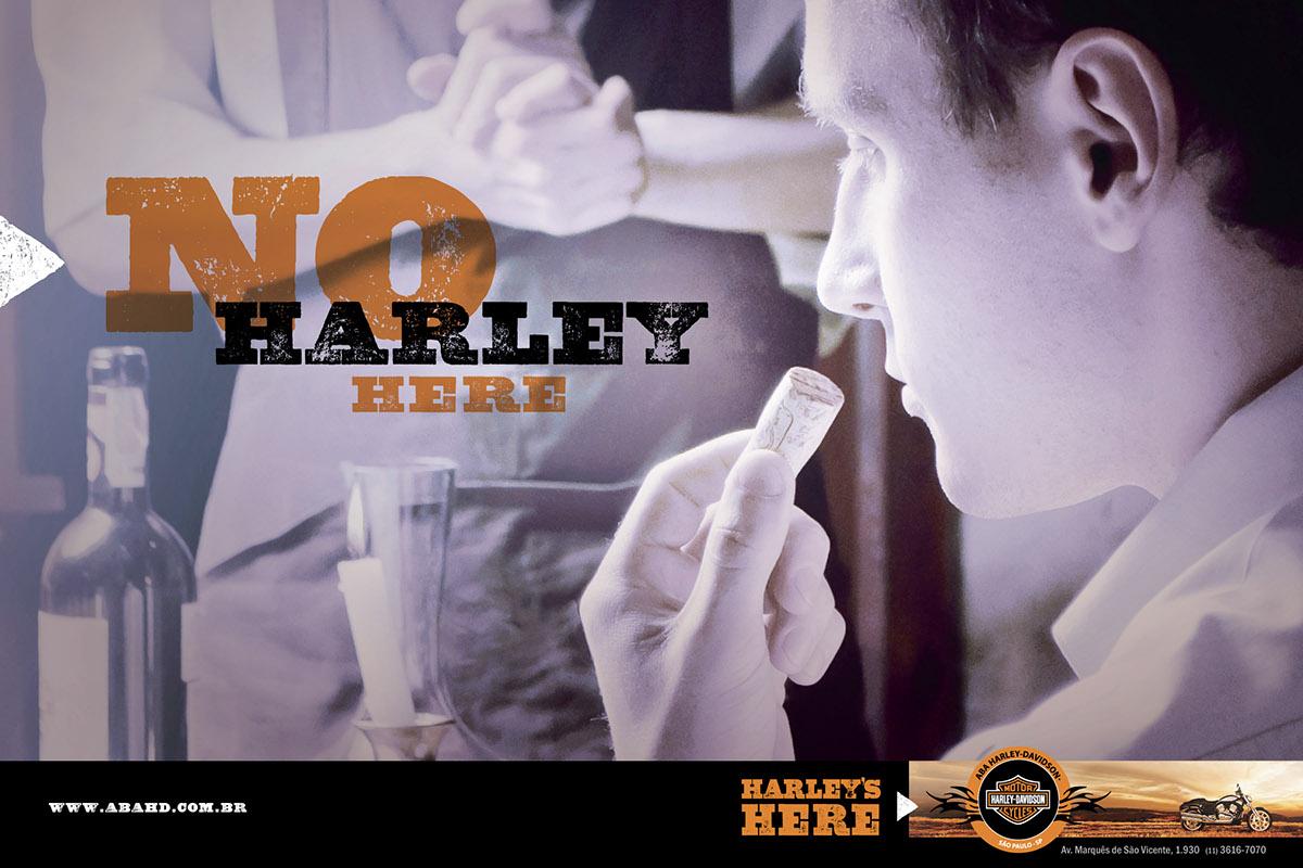59f1b18b0ea ABA Harley-Davidson Campaign (not run) on Behance