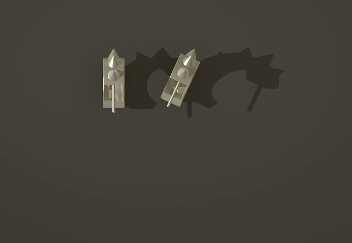 jewelry Rhino Rhino 3D rhino osx Rhinoceros digital jewelry earrings