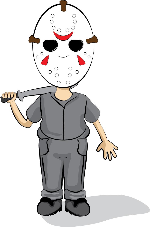 Drawing  Friday The 13th Funny shirt ILLUSTRATION  jason