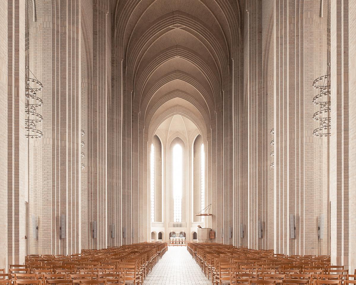 churches modern modernist concrete sacred Catholic spaces holy saint notre-dame
