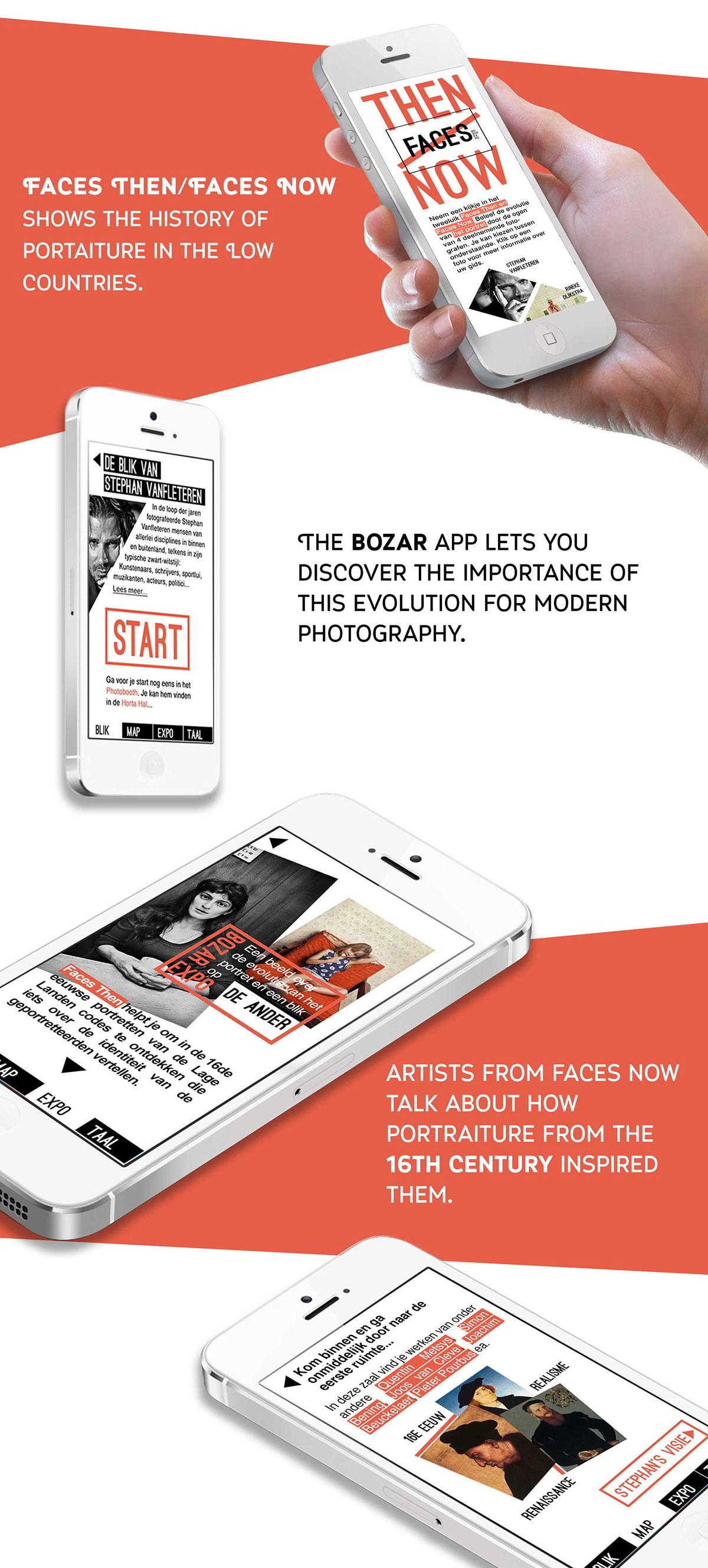 museum Appdesign iphone