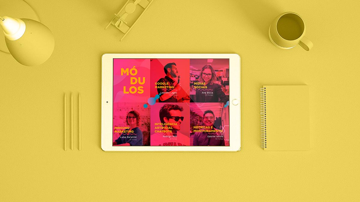 marketing digital design gráfico social media instagram cards