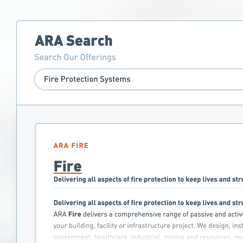 animated industrial Website
