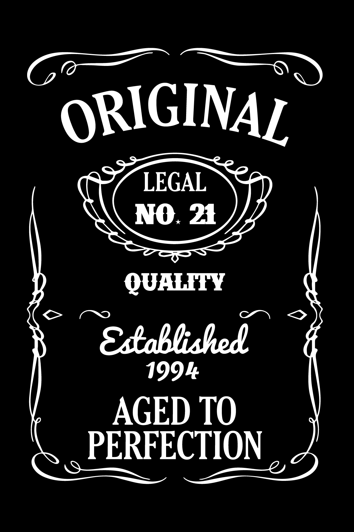 Jack Daniels 21st Birthday Shirt Design On Behance