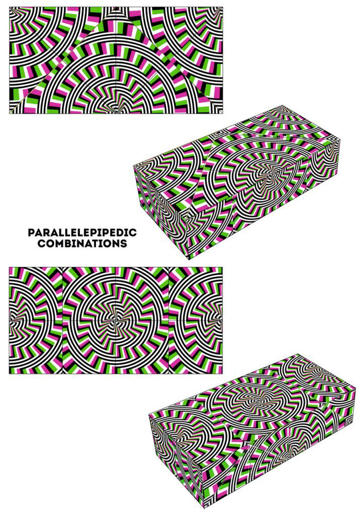 mechanical puzzle toy game puzzle op art