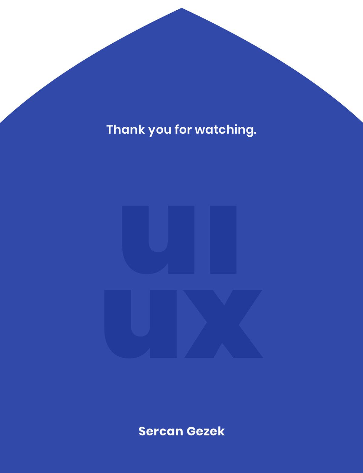 interface design ux UI design