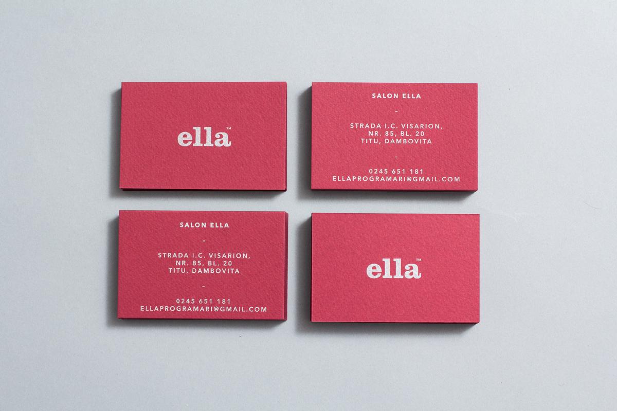 Hair Salon beauty salon Business Cards wordmark brand identity
