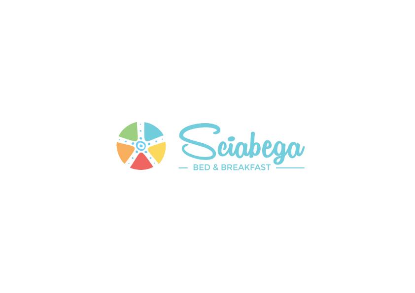 sciabega logo design calasetta torre BNB