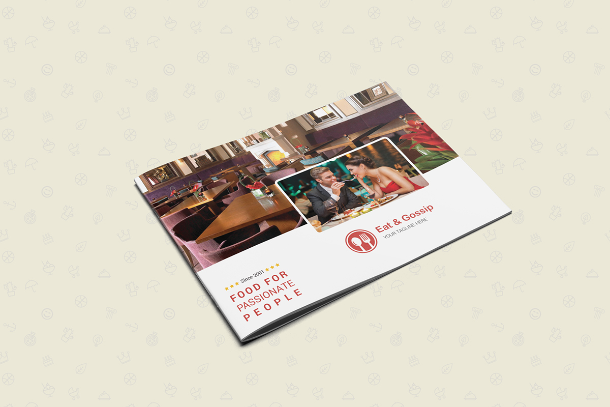 12 pages restaurant menu on behance