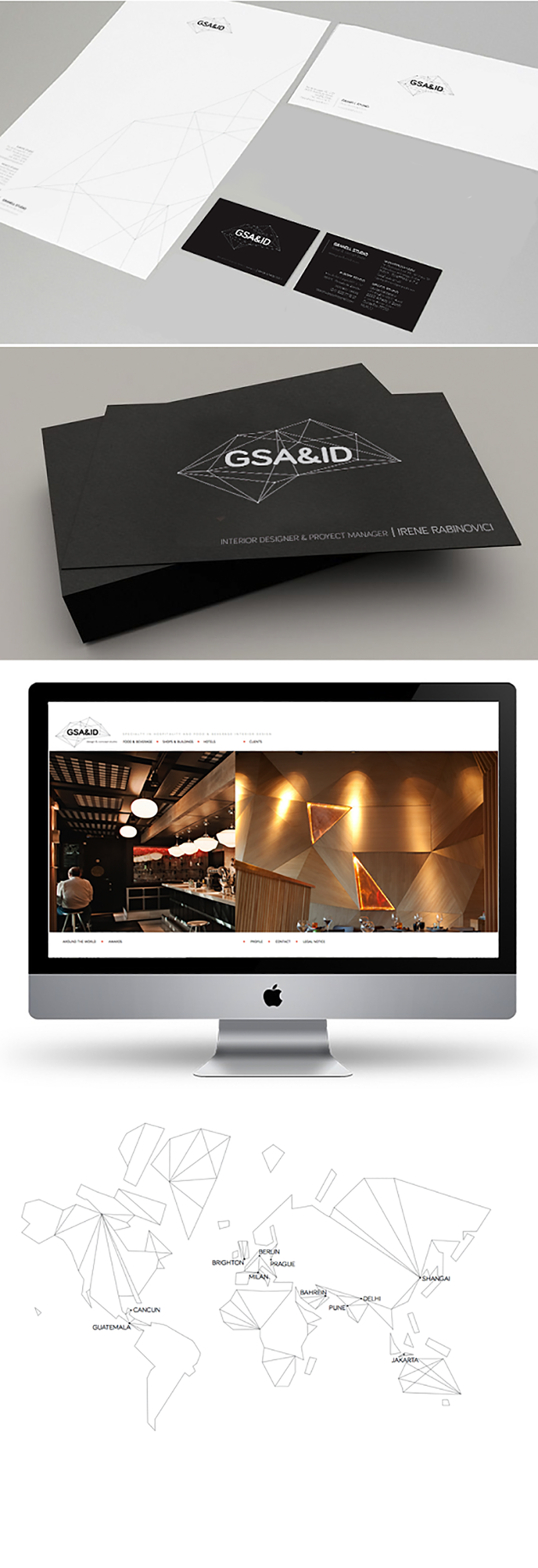 Diseño de Papel sobres diseño gráfico Papeleria Branding. sistemas