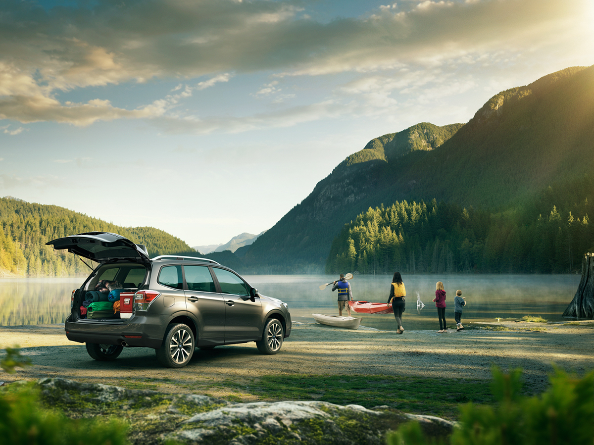 Subaru Forester Global Campaign On Behance