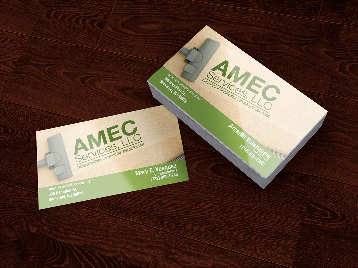Amec business card on behance reheart Images