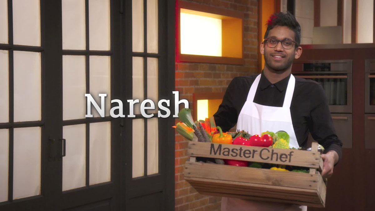 MasterChef Holland SBS6 Masterchef motion tracking title sequence
