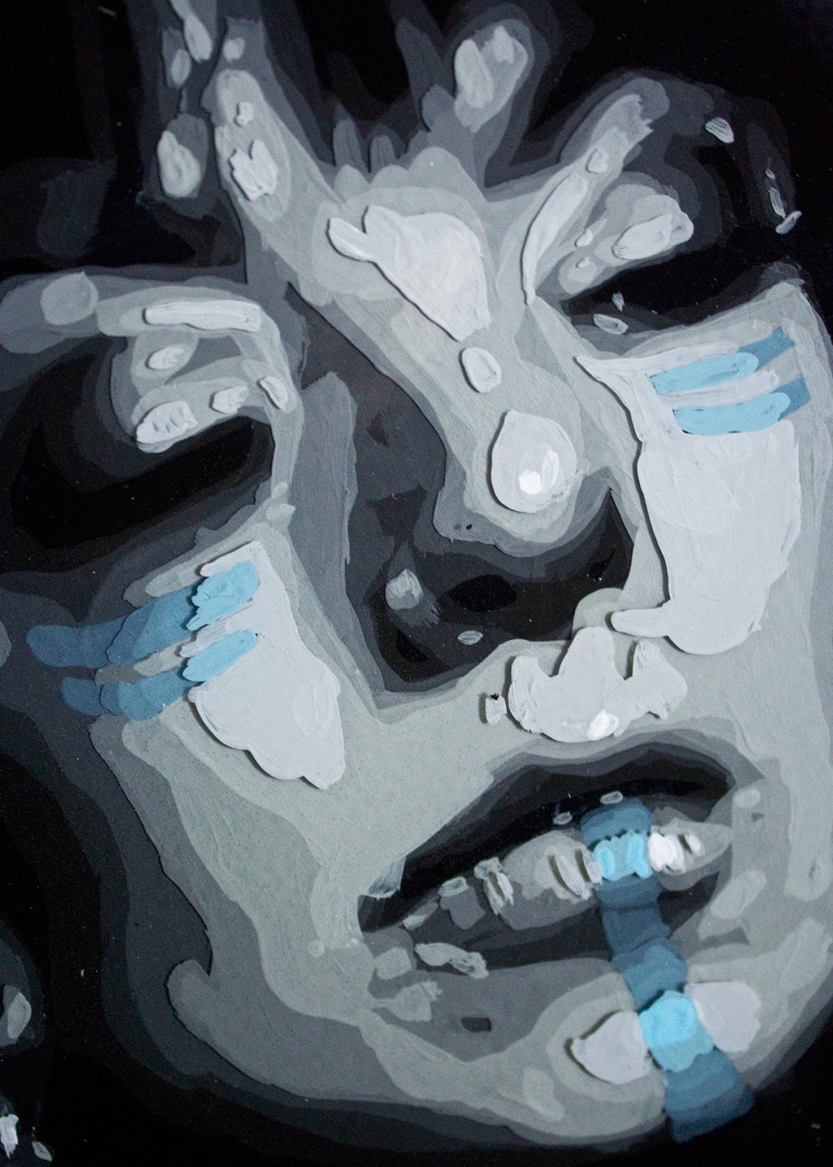 Resin Paintings On Behance