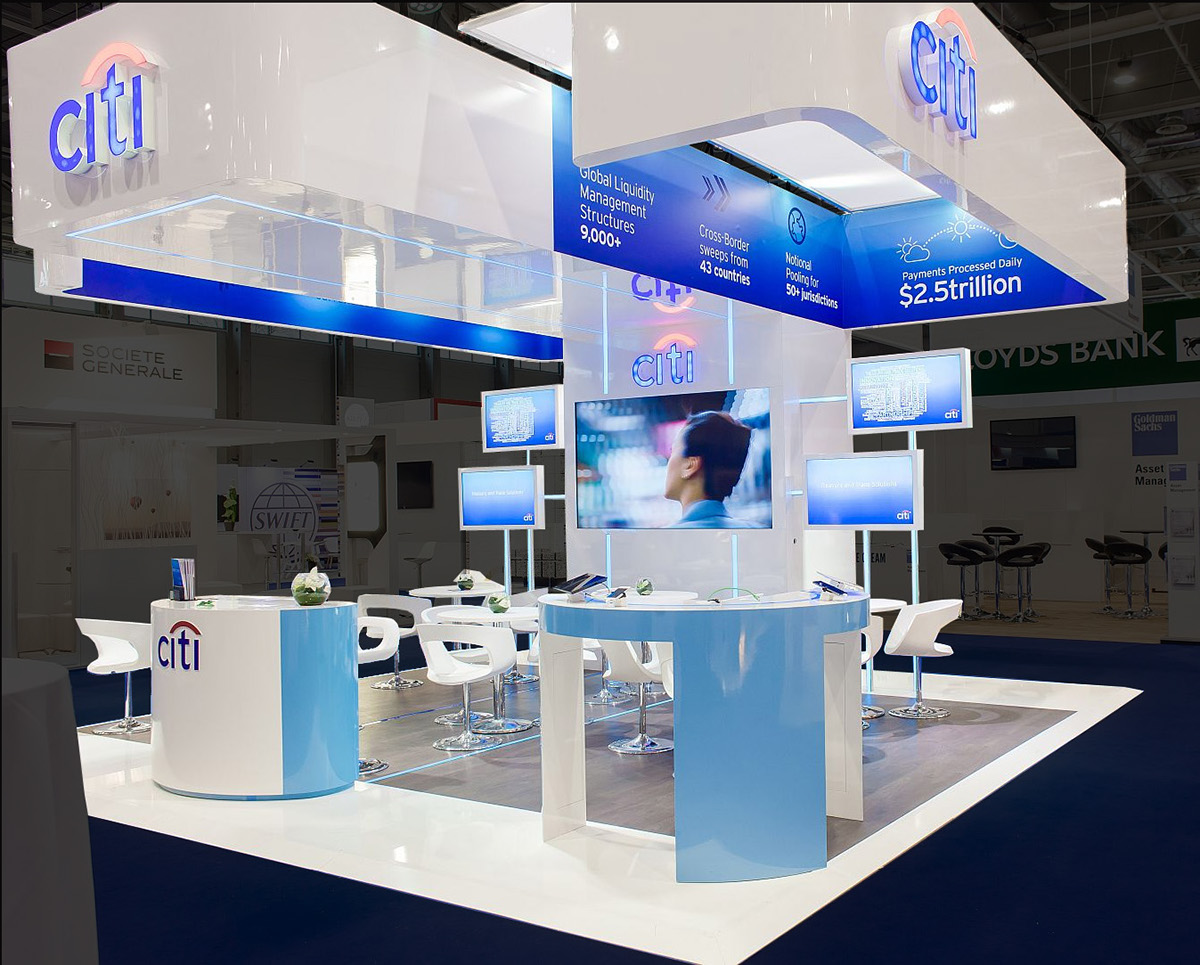 Exhibition Stand Concept : Citi at eurofinance on behance