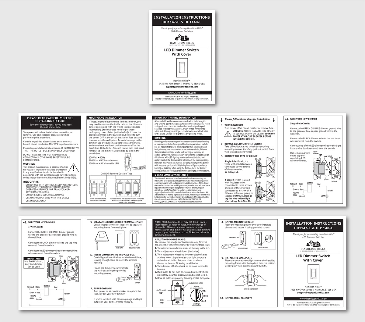 Accordion Fold Instruction Manual on Behance
