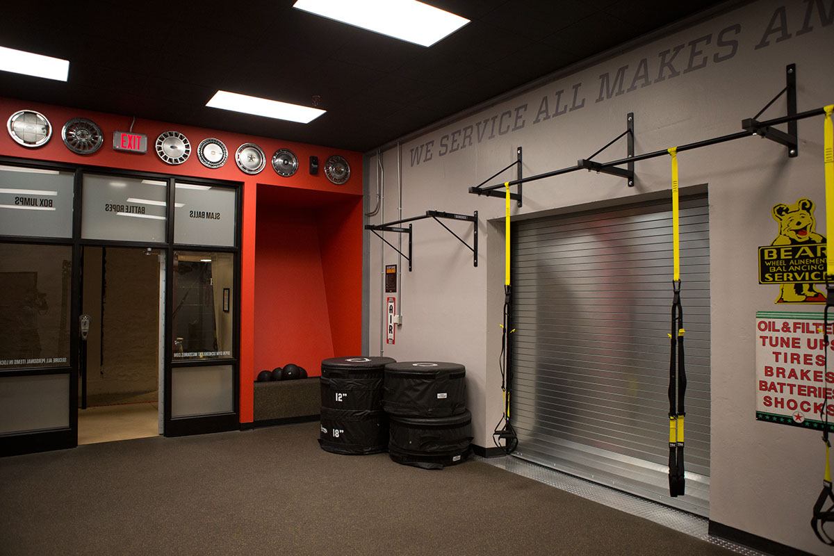 Clark s boxing gym stalcup garage on behance