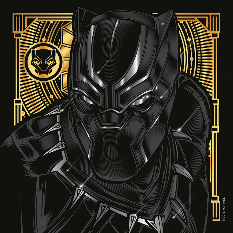 d42fb1620bafab Project for Clarks Originals to help build supporting pieces for a release  of their new shoe they launched with Marvel   Black Panther