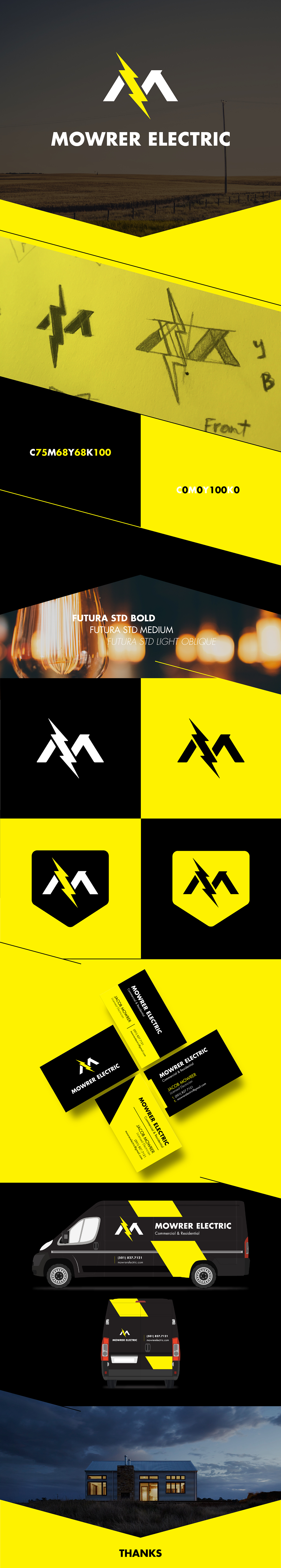 logo electric Electrician Arkansas lightning bolt lightning bolt
