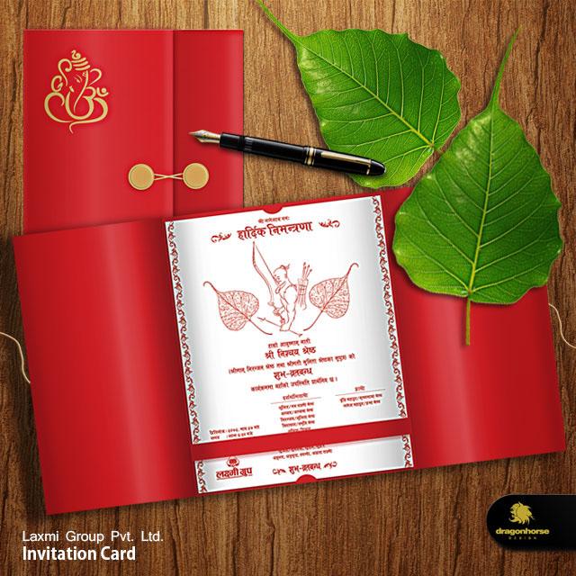 Invitation card design on behance thank you stopboris Choice Image