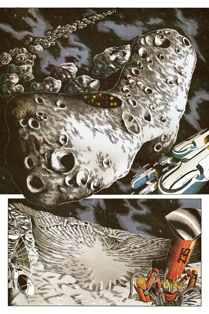 komiks comics science fiction Space