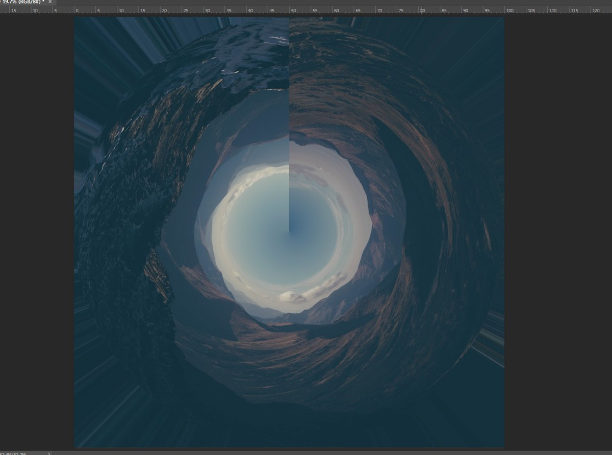photoshop tutorial art falling stronger PS photomanipulation surreal dark inspire