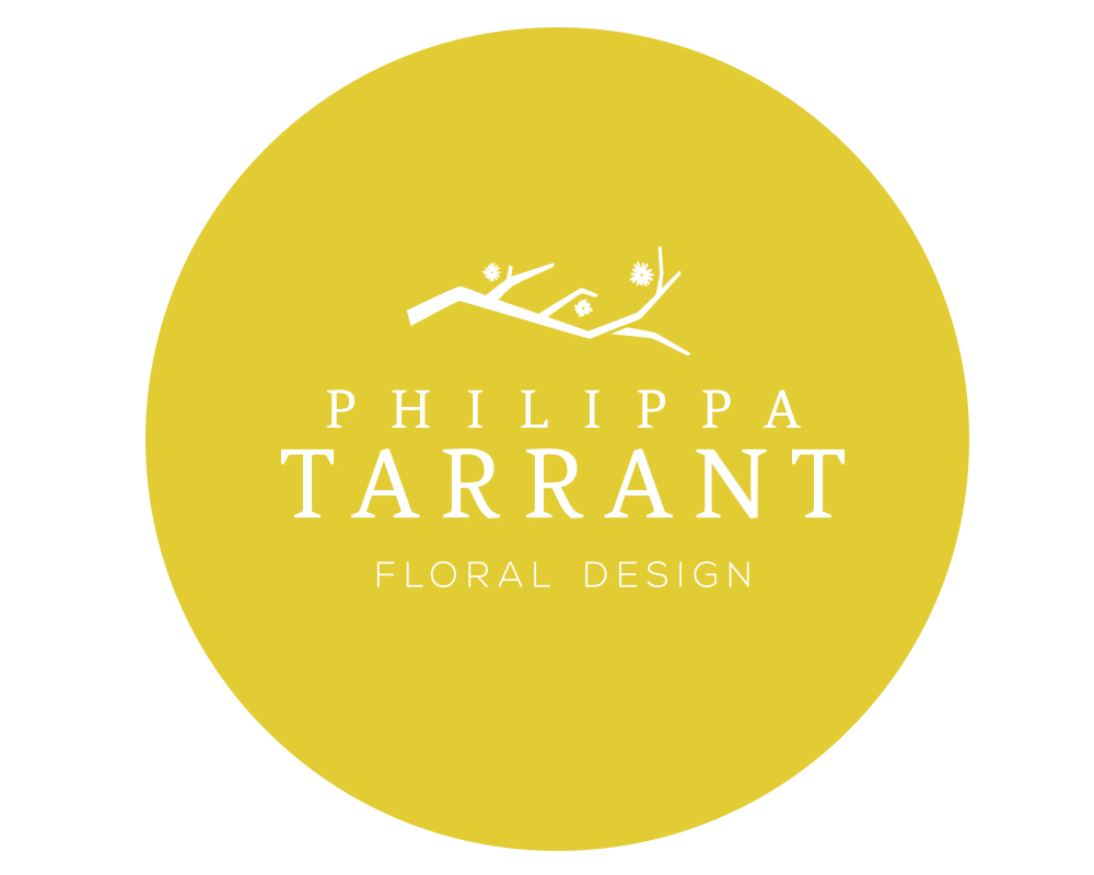 logo identity clean elegant brand floral