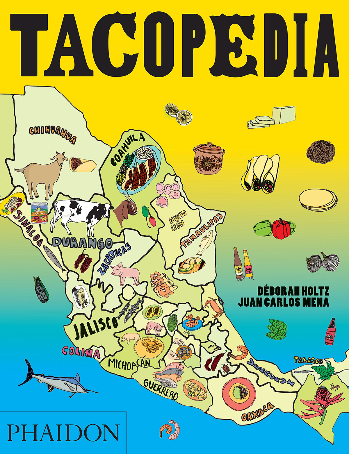 la tacopedia  tacopedia  Mexico Tacos  loteria Food  Mexican Food ILLUSTRATION  graphisme ilustracion