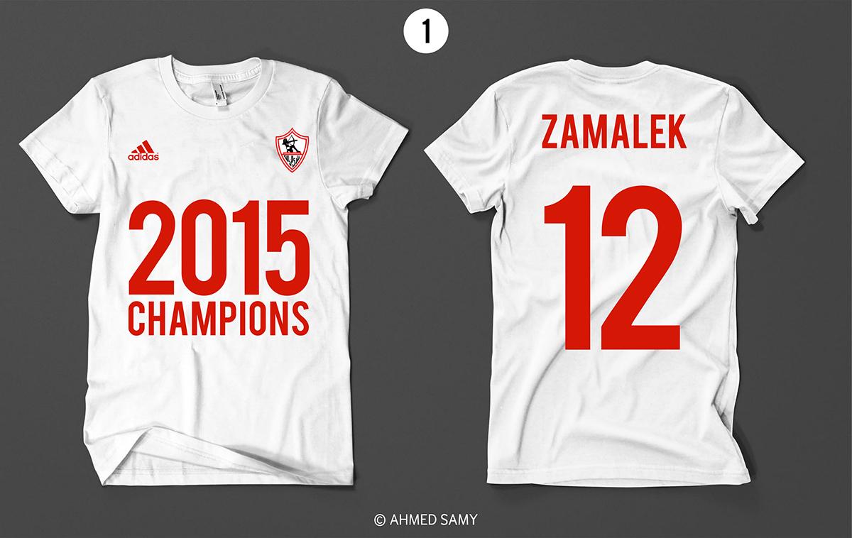 zamalek t-shirt adidas 2015
