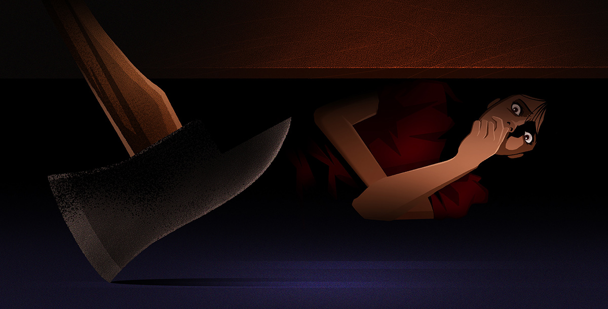 animation  fx mayans motion series Supernatural american horror story horror ILLUSTRATION  the walkingdead