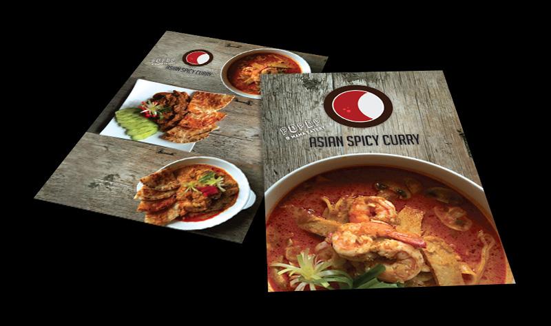 restaurant asian fusion food photography logo menu