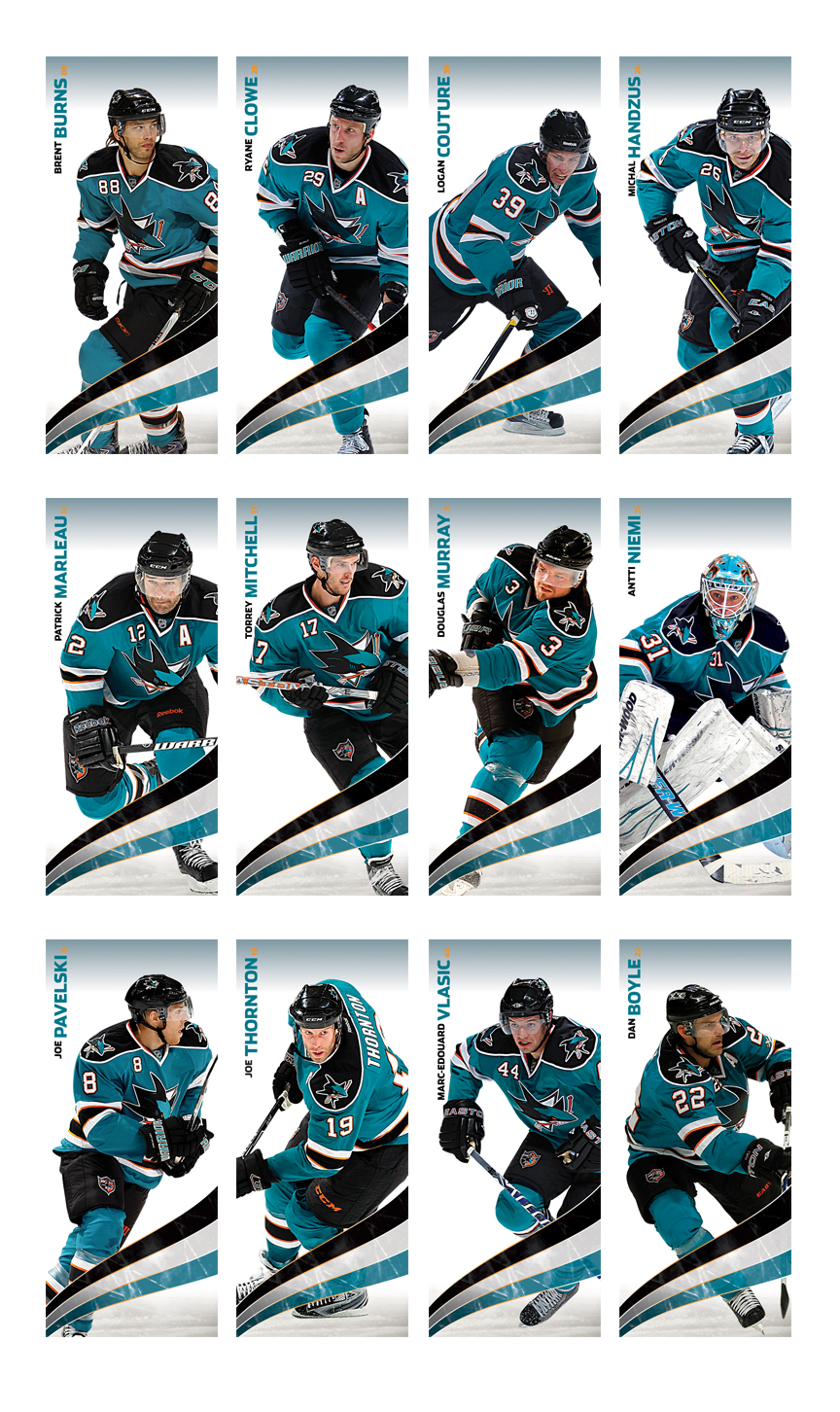 san jose sharks on behance