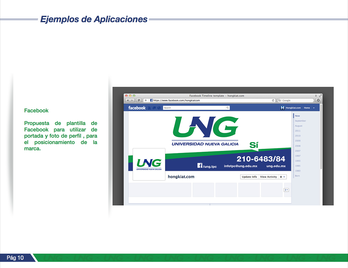 Ung Universidad Nueva Galicia diseño gráfico casa creativa ID nayarit mexico tepic pitayon
