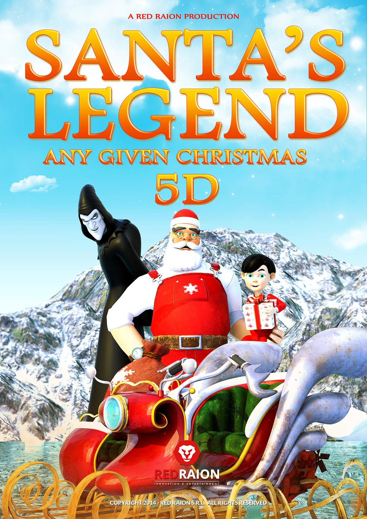 Santa\'s Legend 5D Trailer on Behance
