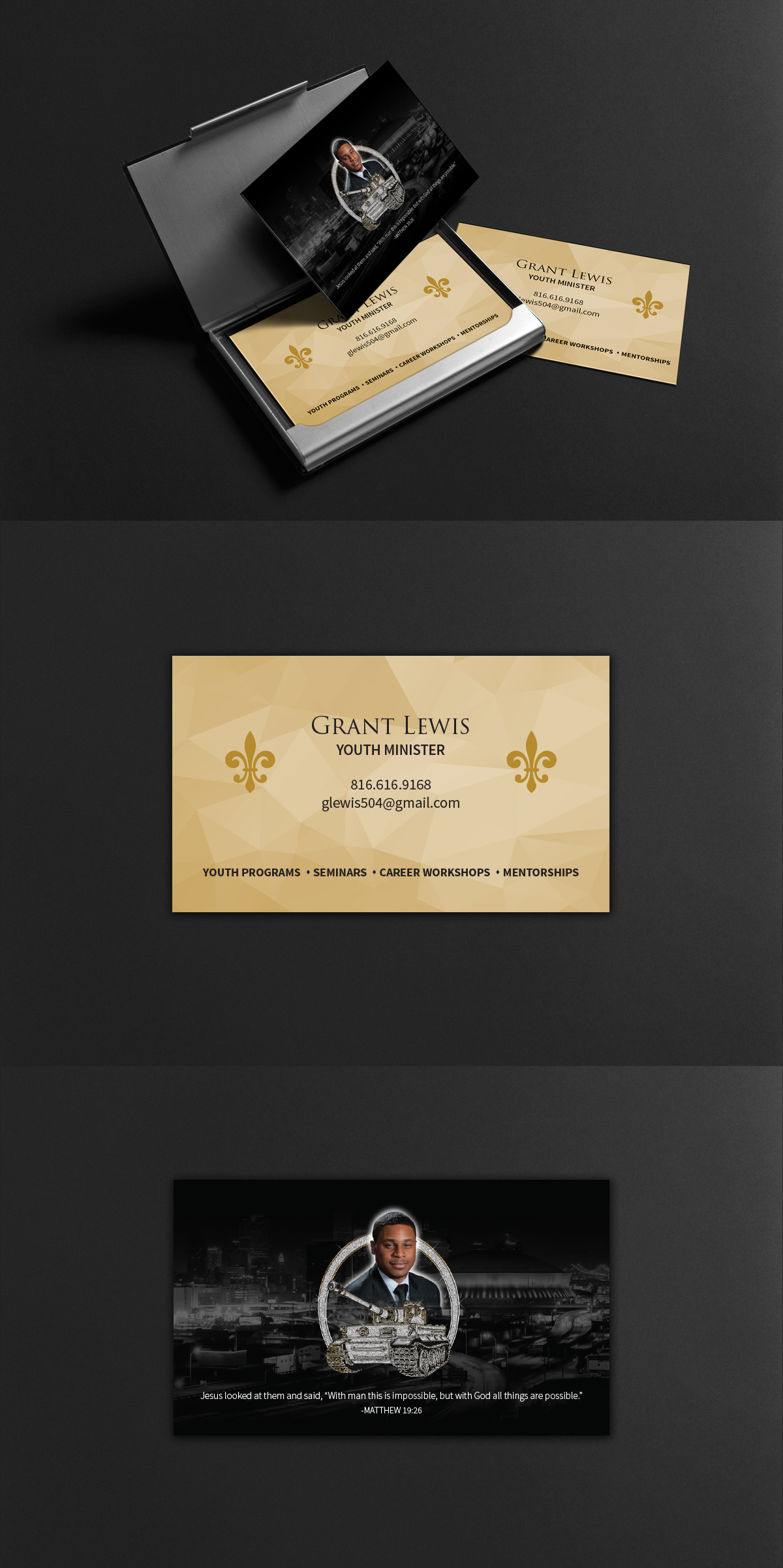 Ministry Business Card Design on Behance