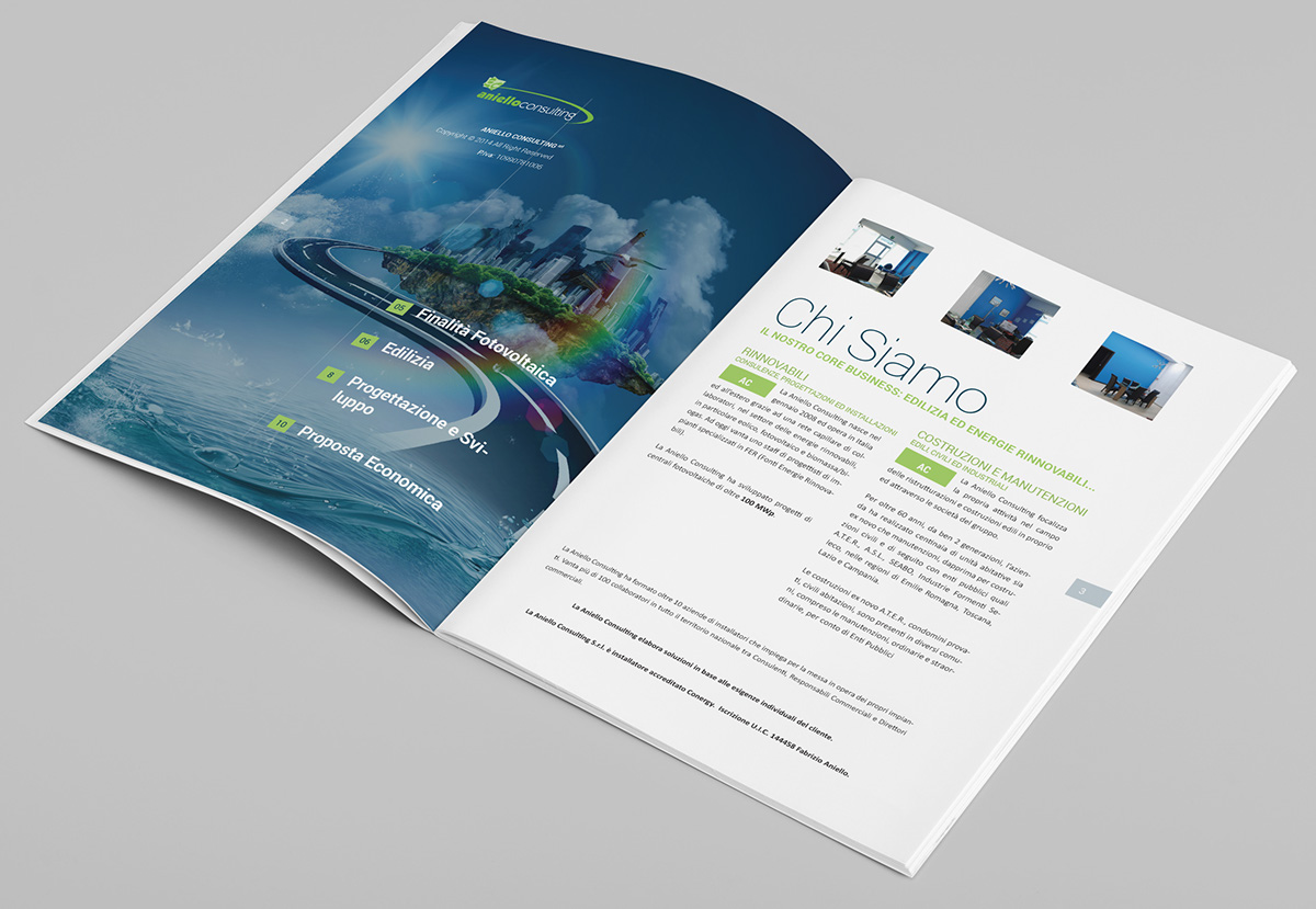 Brand identidy  brochure design