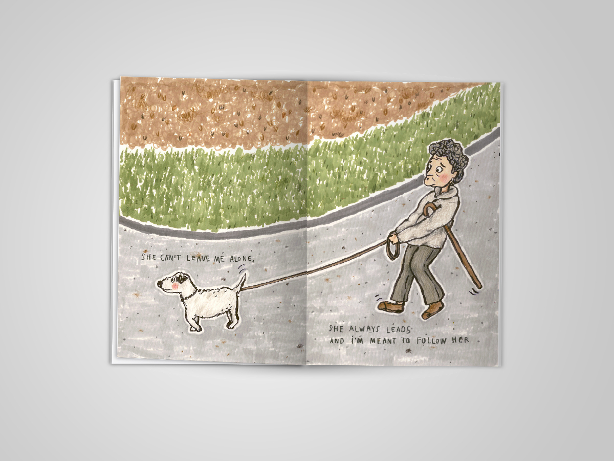 dogs dog illustration dog walking edinburgh walk a dog Dog Walk