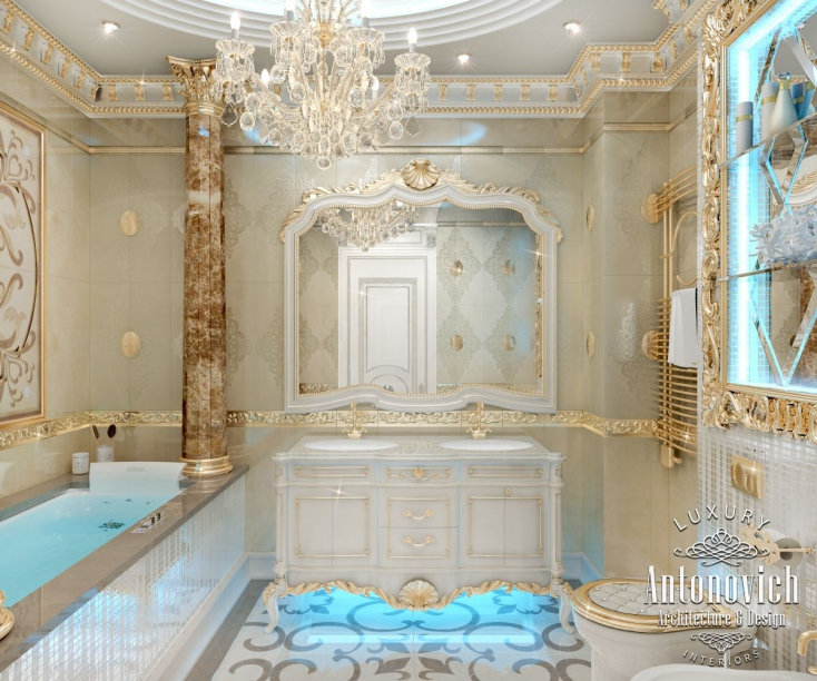 Bathroom design dubai antonovich design on behance for Bathroom designs dubai