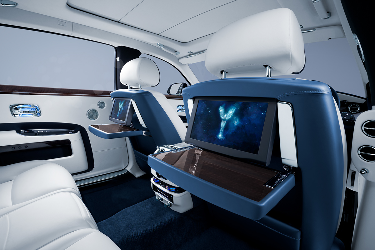 Rolls Royce Ghost Interior 2017 On Pantone Canvas Gallery