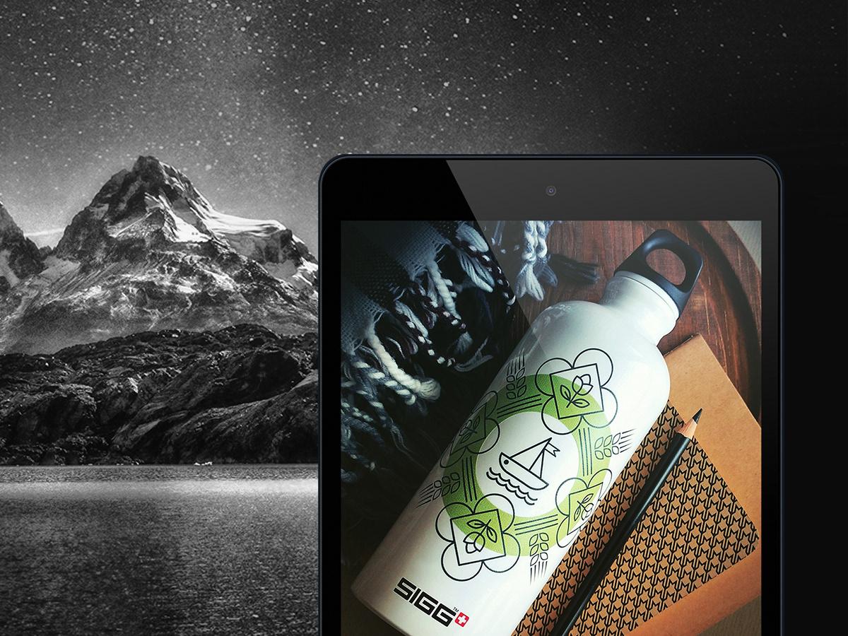 EcoBottle bottledesign bottle water eco Sustainable green Drinkware Travel ecofriendly